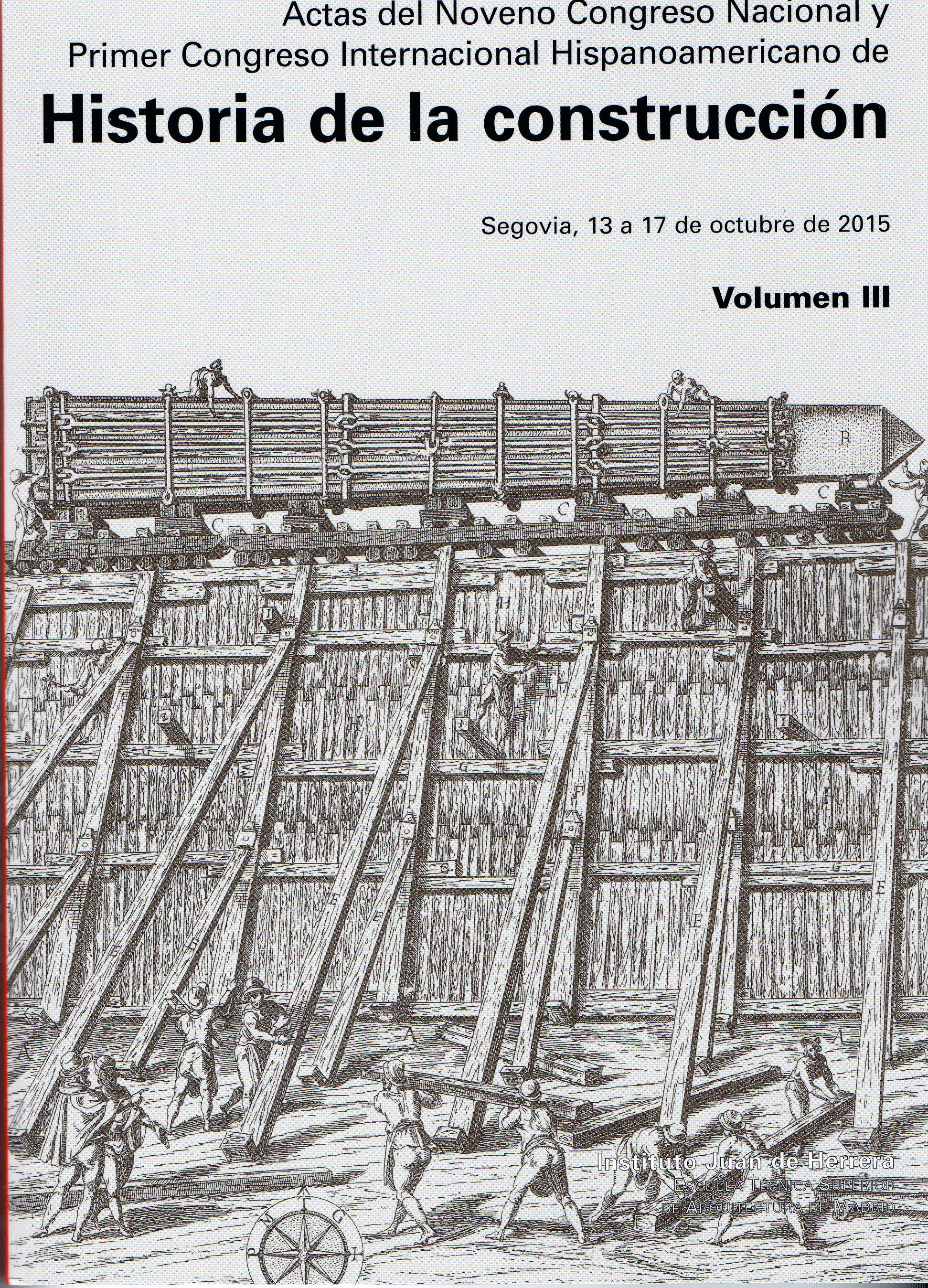 Portada Actas Congreso Historia Construcción