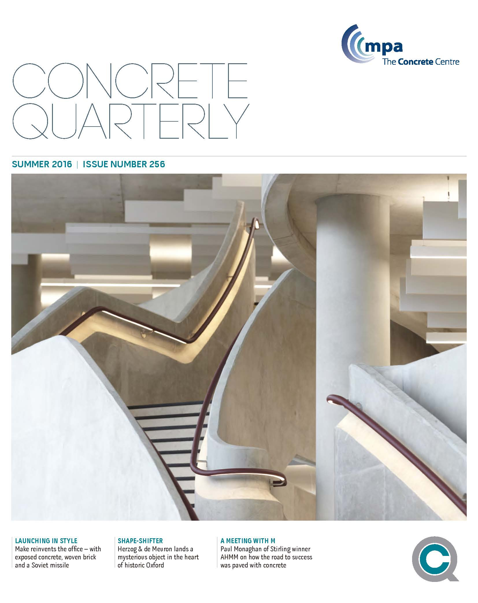 portada Concrete Quarterly